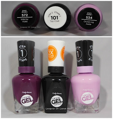 Sally Hansen Wild for Violet and Orchid-ing Aside