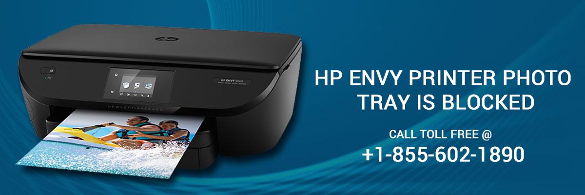 123HPComEnvy: How to resolve if HP Envy printer photo tray
