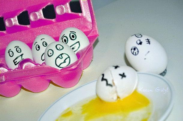 Cara Memisahkan Kuning Telur dengan Mudah