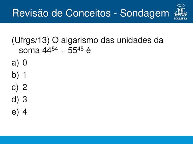 exercicios de matematica 1 ano ensino medio
