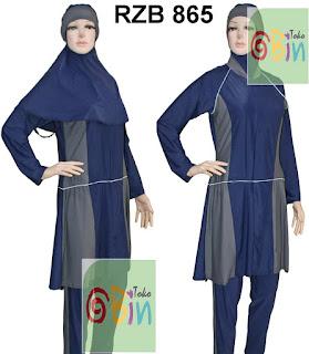 baju renang muslimah syari RZB 865
