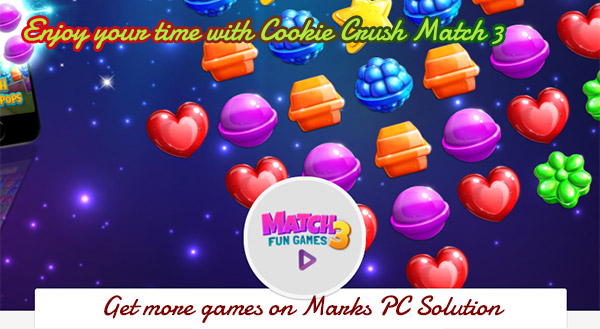 Play Cookie Crush Match 3