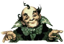 la imagen del Mago de Oz. otro enfoque sobre el personaje