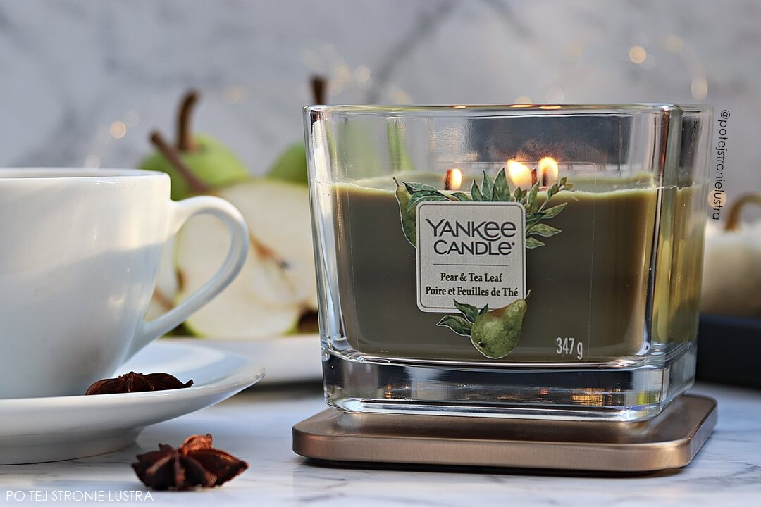 yankee candle pear & tea leaf recencja blog