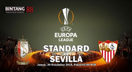Prediksi Standard Liege Vs Sevilla 30 November 2018