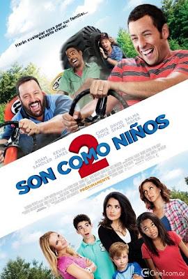Son Como Niños 2 (2013) DVDRip Latino