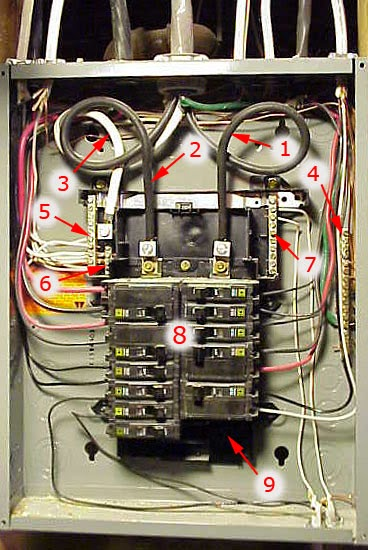 Wiring Diagram For Circuit Breaker