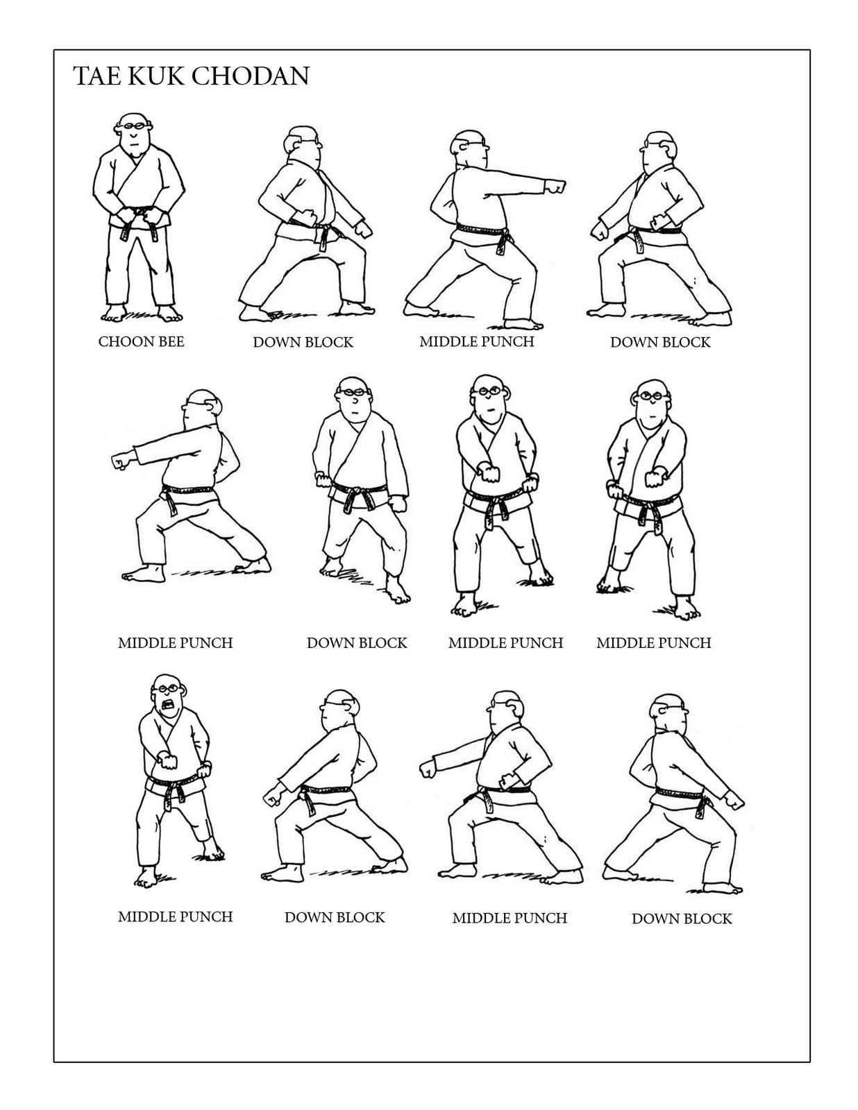 Prairie Martial Arts: Tae Kuk Chodan