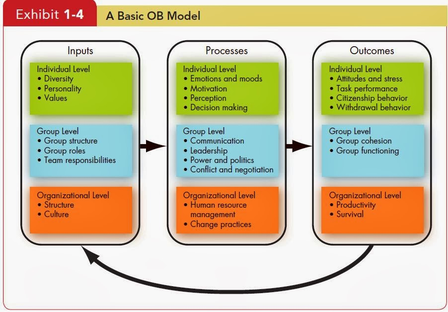 describe individual and organizational factors that contribute to political behavior Concepts in organizational behavior - organizational behavior is the study of the many factors that have an impact on how people and groups act, think, feel, and respond to work and organizations and how organizations respond to their environments.