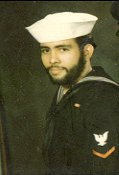 Petty Officer Third Class Florencio Lennox Campello, circa 1974