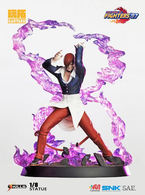 """Figuras: Galería de imágenes de Iori Yagami de """"The King of Fighters"""" - Gantaku"""
