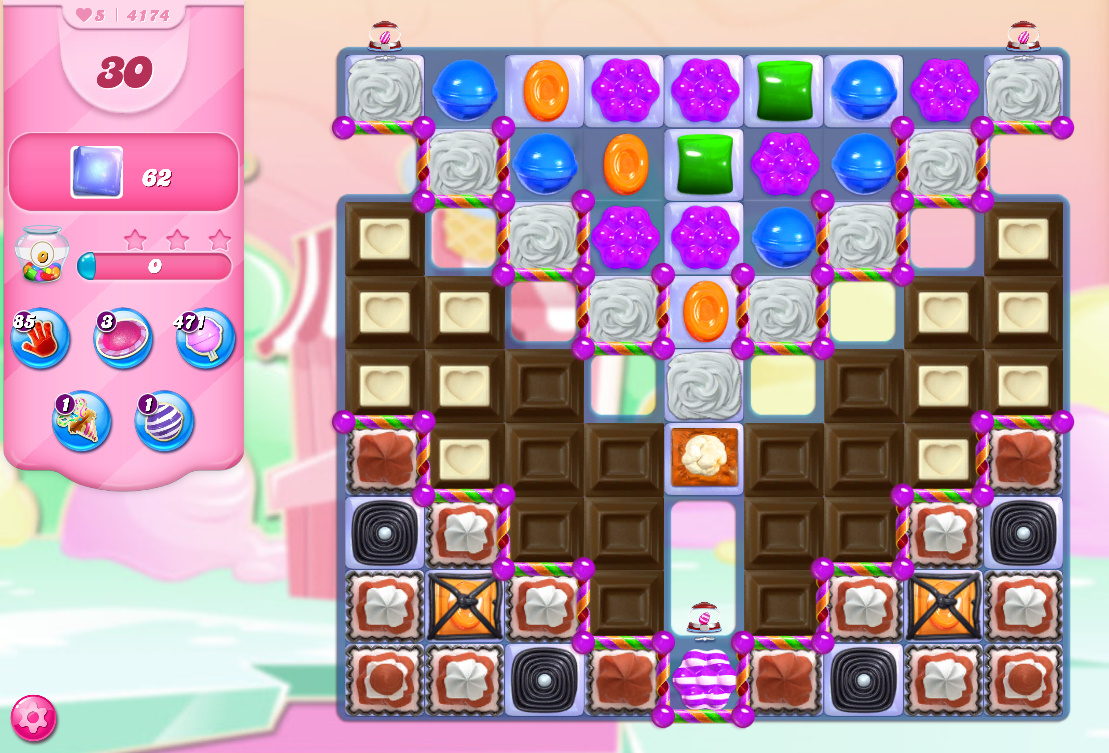 Candy Crush Saga level 4174