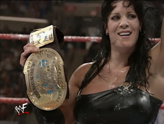 WWE / WWF No Mercy 1999 -  Chyna won the Intercontinental Championship