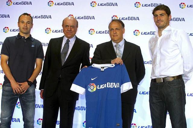 La Liga minimiza el impacto de la marcha del BBVA