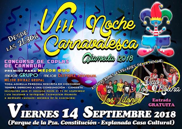 Noche Carnavalesca Alameda 2018