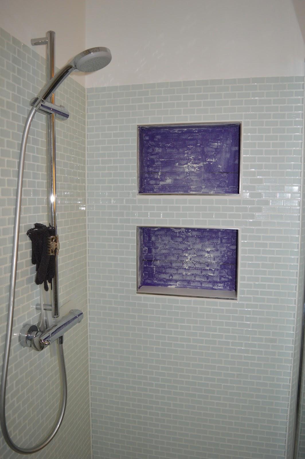 heim elich dusch ablage nischen. Black Bedroom Furniture Sets. Home Design Ideas