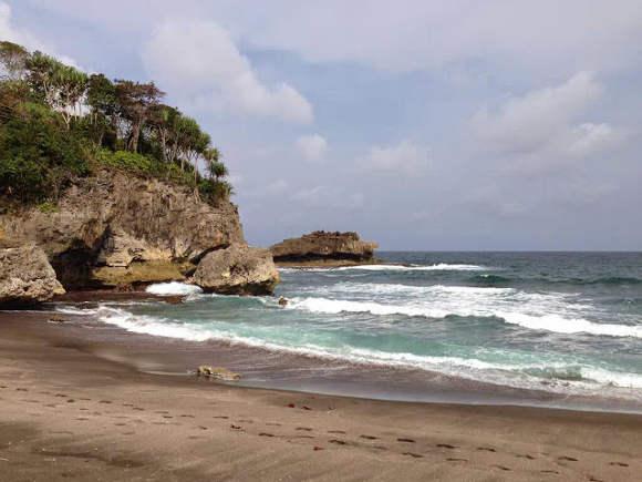 Pantai Madasari Cimerak Jawa Barat