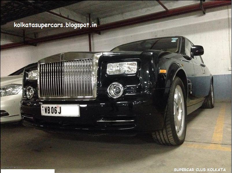 Super Cars Kolkata Rolls Royce Phantom In Supercars Club