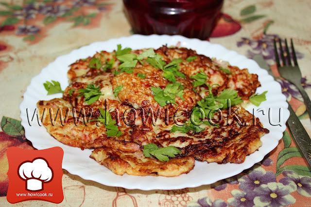 рецепт вкусных кабачковых оладий