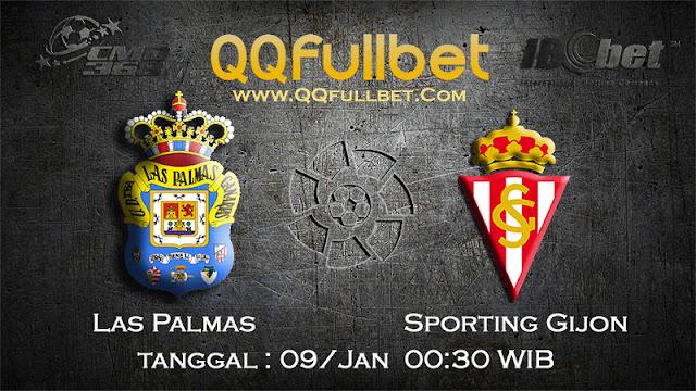 PREDIKSIBOLA - Prediksi Taruhan Bola Las Palmas vs Sporting Gijon 09 Januari 2017 (La Liga Spanyol)