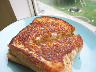 grilled cheese using mayo