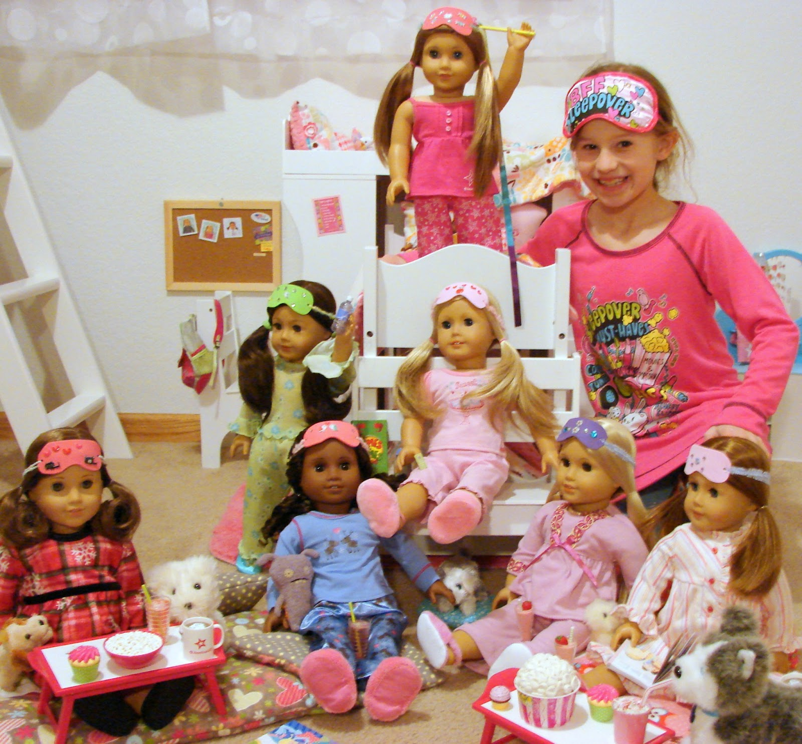 american girl doll play tutorial make a sleep mask for your doll. Black Bedroom Furniture Sets. Home Design Ideas