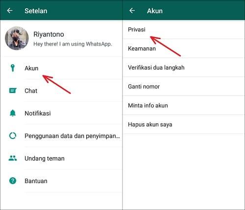 Cara Supaya Riwayat Online Tidak Terlihat di Profil WhatsApp