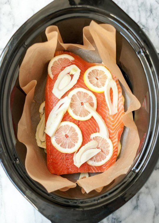 Yes, you can cook salmon in the slow cooker — and you should!
