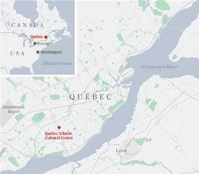 Map, canada, Qebec