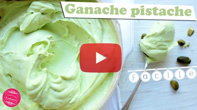 vidéo ganache pistache