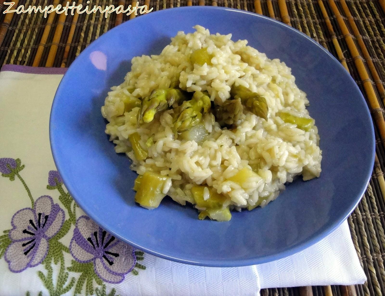 Risotto agli asparagi - Primo piatto con asparagi