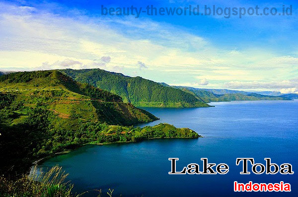 lake toba indonesia