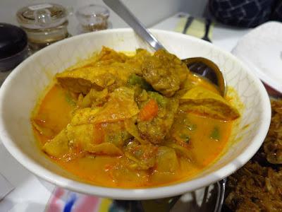 Baba Wins' Peranakan Cuisine, sayur lodeh