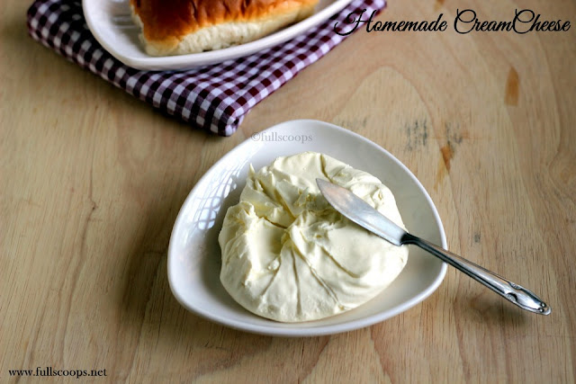 Homemade CreamCheese