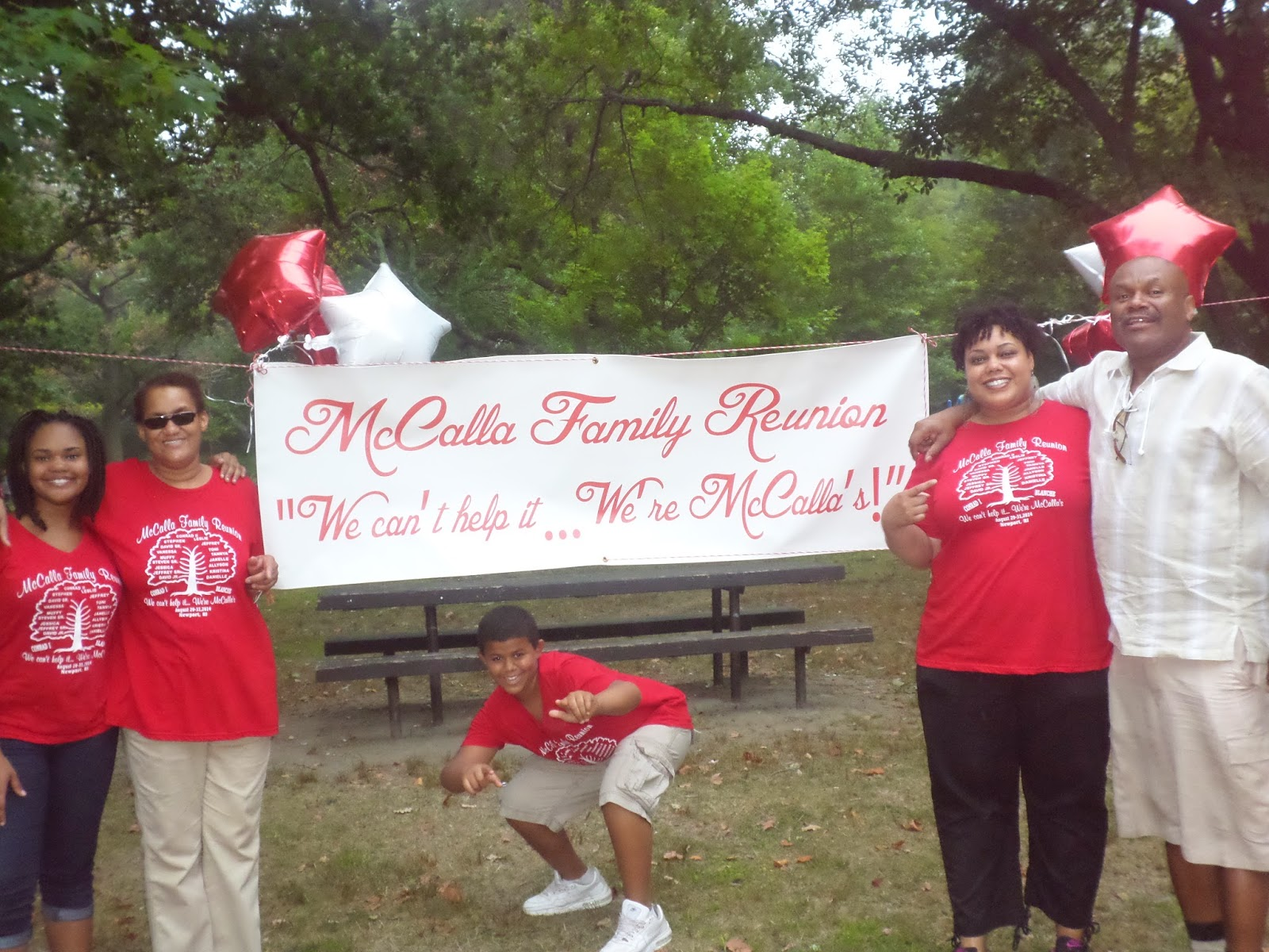 Family Reunion Banner Printed by Banners.com