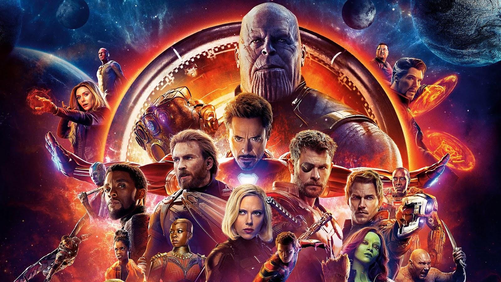 Thanos e as joias do infinito