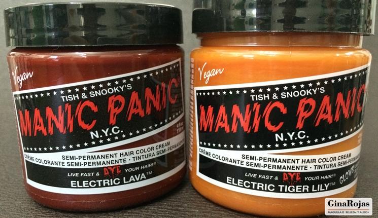 Manic panic en color naranja
