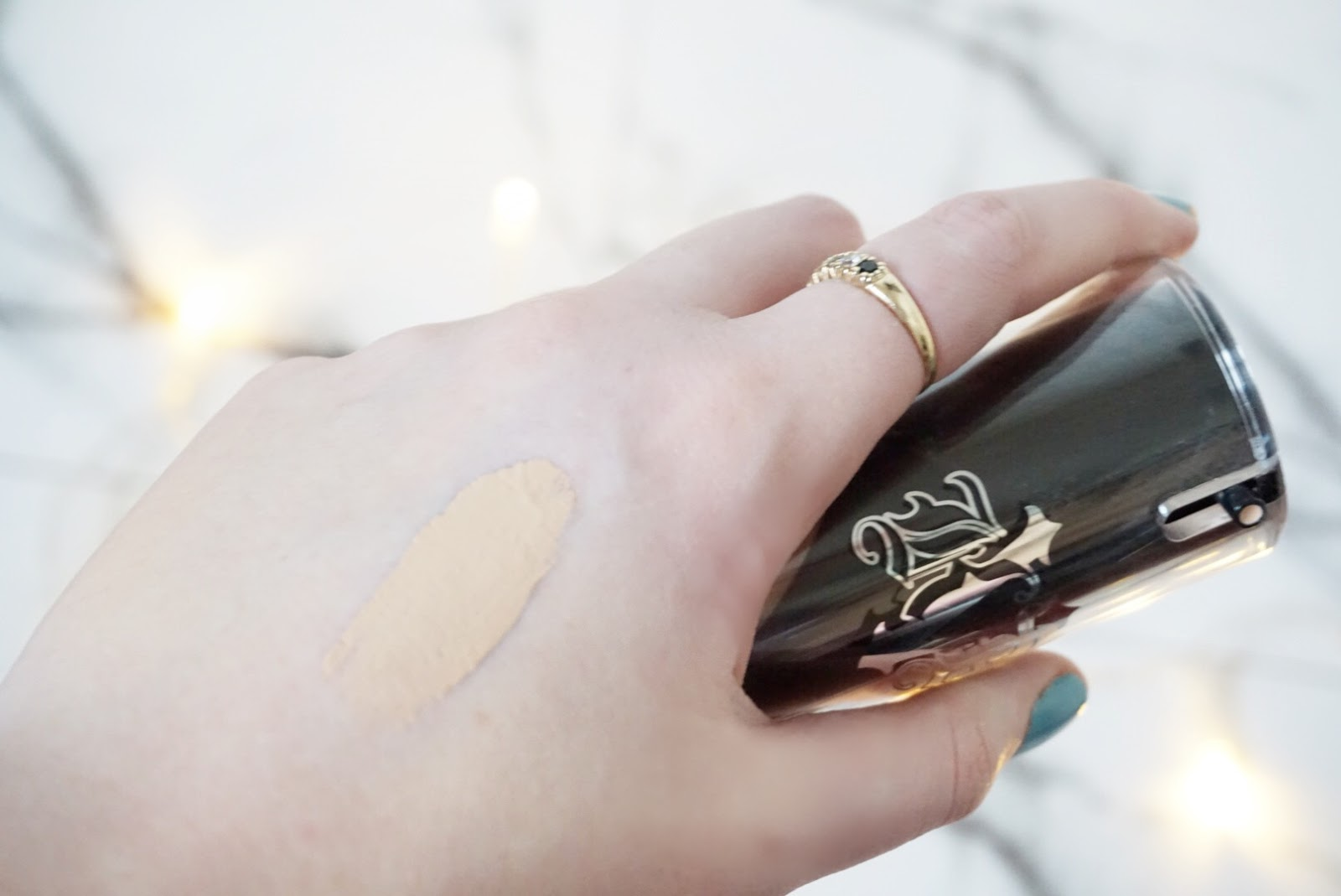 Kat Von D Lock It Foundation Swatch