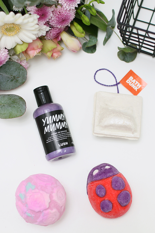 Lush products blogger review