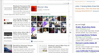 Membuat Fans Like Facebook Melayang di Tengah Blog