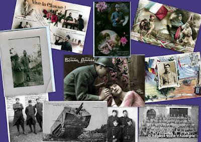 Album photo CPA 1914-1918