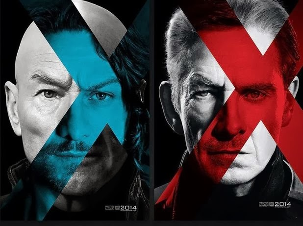 X-Men Days of Future Past Patrick Stewart Hugh Jackman animatedfilmreviews.filminspector.com