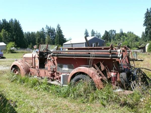 Craigslist Seattle Cars By Owner >> Restoration Project Cars: 1942 Seagrave Fire Truck Rat Rod Project