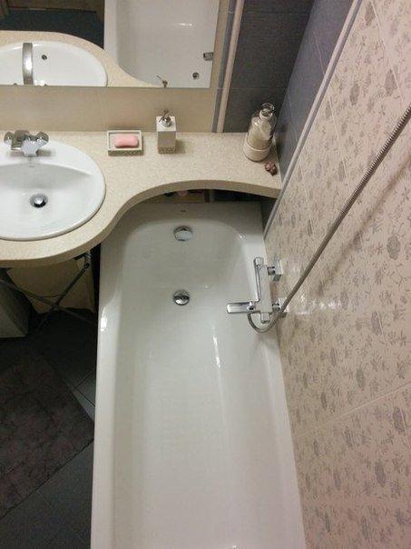 Даже маленькая ванная может быть красивой