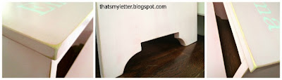 diy kids step stool details