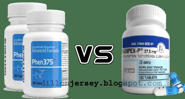 phen375 vs phentermine 37.5 adipex
