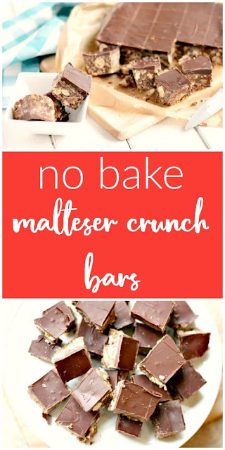 No Bake Maltesers® Crunch Bars