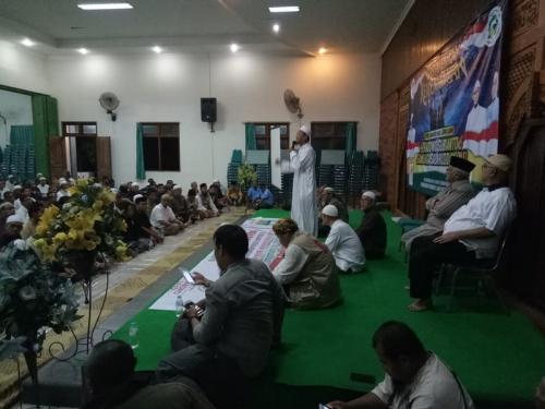 Ngeri! Kakak Algojo ISIS Gelar Syukuran Kemenangan Prabowo-Sandi di Solo