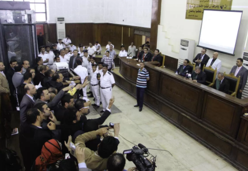 21 people sentenced to death for terror offences in Egypt