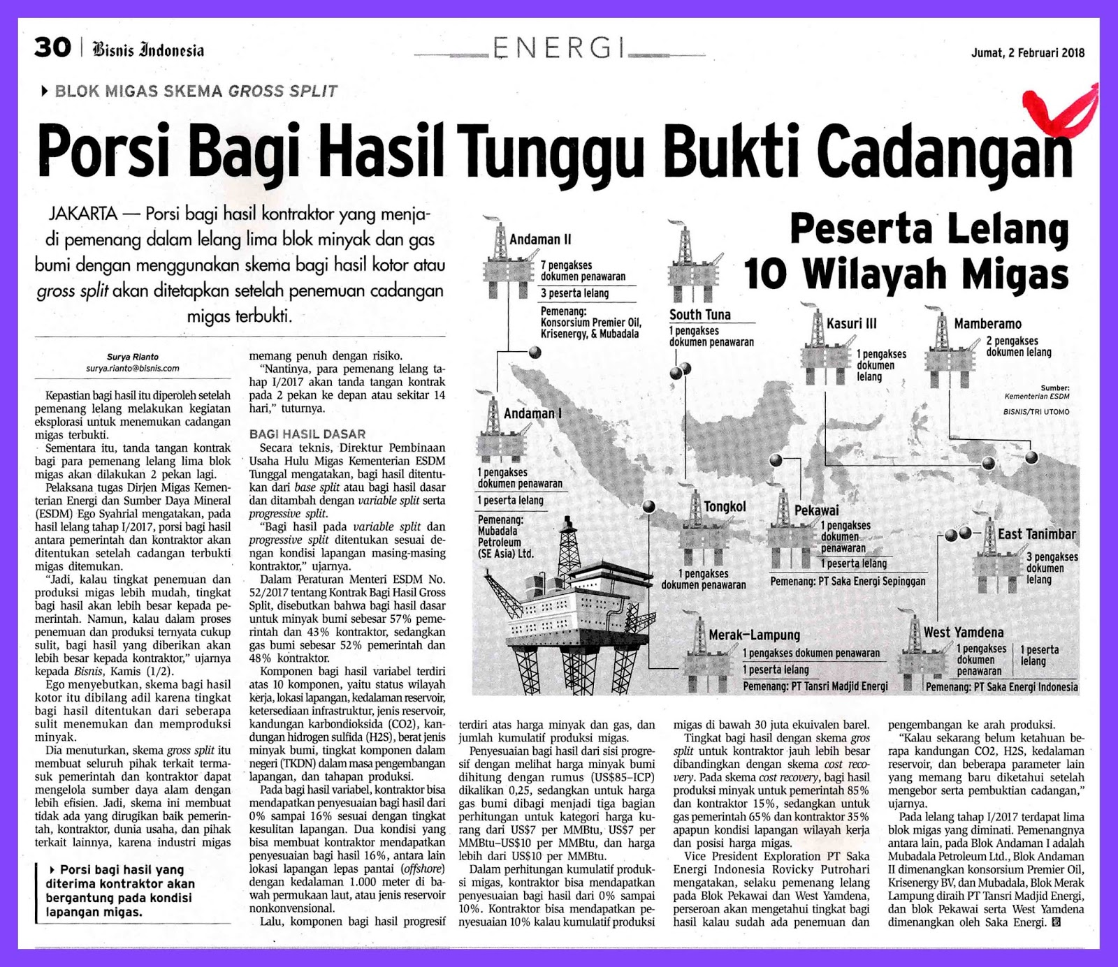 media monitoring oil and gas
